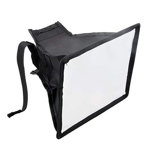 Amandua Bewegliche Blitz-Diffusor Softbox 15 x 17cm für Kamera Blitzfotografie