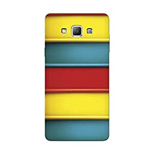 Abhivyakti Pattern Colorful rainbow Hard Back Case Cover For Samsung A7