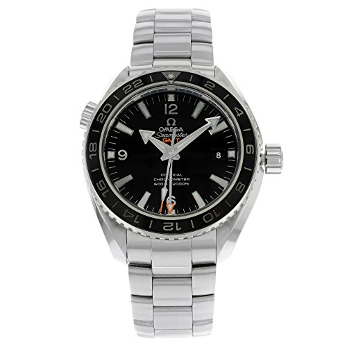 Omega 232.30.44.22.01.001 - Reloj para hombres, correa de acero inoxidable color acero