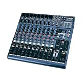 Definitive Audio MX 1604 FX Mixer 10 Voies avec DSP Noir