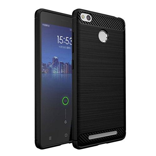 Xiaomi Redmi 3 Pro Funda , ivencase Silicona TPU de Flexibilidad Carcasa Case Bumper Ultra Delgado Espalda Case Cover para Xiaomi Redmi 3 Pro/3s Prime 5.0