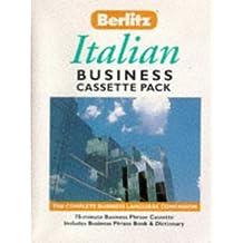 Berlitz Italian Business Cassette Pack