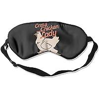 Crazy Chicken Lady Natural Silk Sleep Mask Comfortable Smooth Blindfold for Travel, Relax preisvergleich bei billige-tabletten.eu