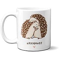 Gift Mug, HedgeHugs Hedgehog 11oz Ceramic Mug Coffee Tea Gift Valentine Mothers Day