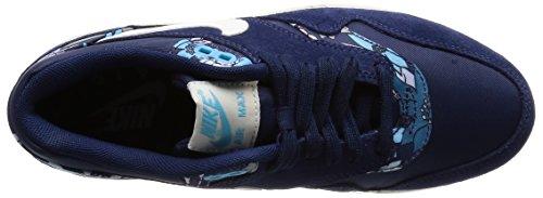 Nike Air Max 1 Print, Damen Sneakers, Blau - 7