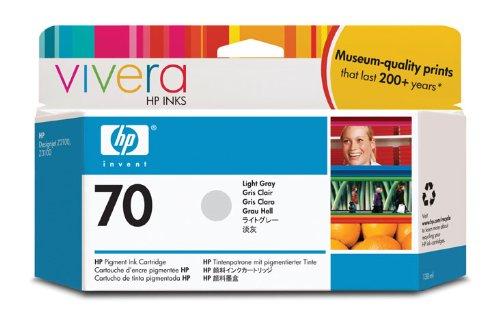 HP 70 Grau hell Original Tintenpatrone, 130 ml