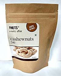 Bnuts Cashew Roasted Kaju 250 Grams