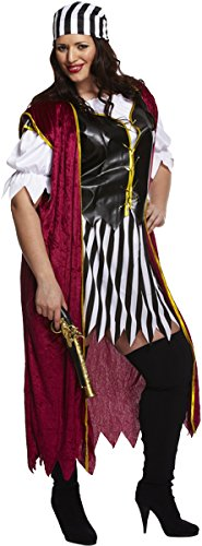 Women's PLUS SIZE Pirate Costume - Low Cost