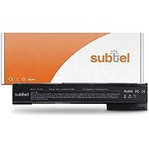 subtel® baterias portatiles para HP EliteBook 8560w / 8570w / 8760w / 8770w (4400mAh) VH08