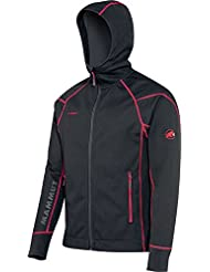 Mammut Caín Jacket, black/d'inferno