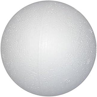 Creative7 cm 50 piezas bolas de poliestireno