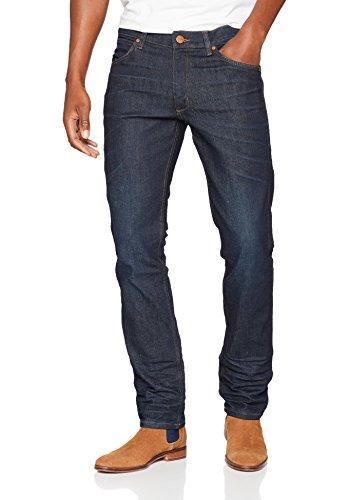 Wrangler Herren Straight Jeans Greensboro Blau (Rinse Resin 96X)