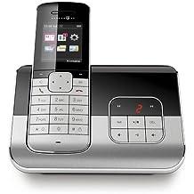 Telekom Sinus A 806 - Teléfono con pantalla a color TFT, contestador automático, Bluetooth y estación de carga