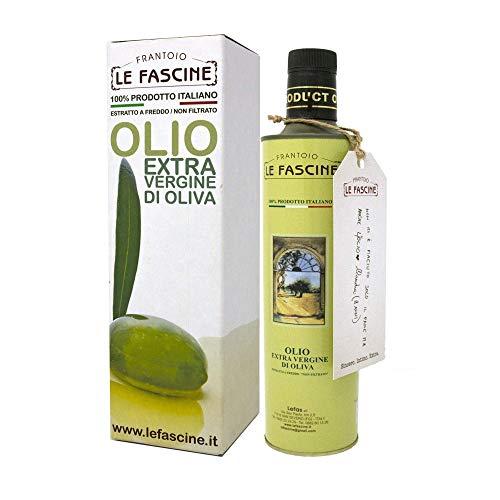 Le Fascine Olio Extravergine Di Oliva 100 % Italiano In Bottiglia Da 500 ml Prodotto Monocultivar da Oliva Provenzale
