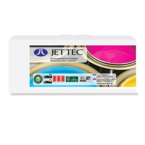 Preisvergleich Produktbild Jet Tec TN2010 Brother In England hergestellter Wiederaufbereiteter Lasertoner, schwarz