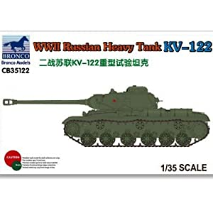 Unbekannt Bronco Models cb35122-Maqueta de WWII Russian Heavy Tank KV de 122