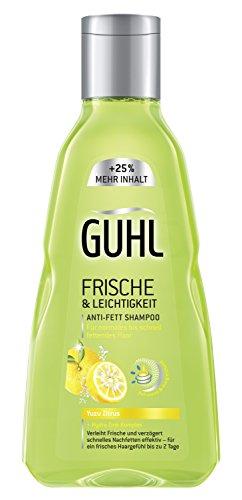 Guhl Frische und Leichtigkeit Shampoo, 4er Pack (4 x 250 ml)