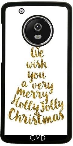 Hülle für Lenovo (Motorola) Moto G5 Plus - Holly Jolly