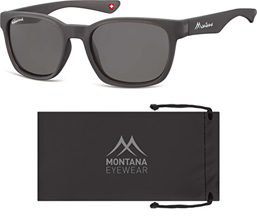 Montana Mp30, Lunettes de Soleil Mixte Multicolore - Multicoloured (Grey/Smoked Lenses)