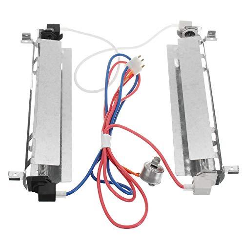 DyNamic Kühlrichter Ersatzverfall Defrost Heater Assembly Parts For Ge Hotpoint Rca Kenmore Wr51X443 Wr51X461 - Rca-schalter