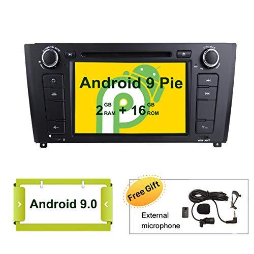 Smartnavi Android 9.0 Autoradio GPS DVD-Player für BMW E81 E82 E87 E88 1er-Serie HeadUnit 7