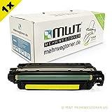 1x Kraft Office Supplies Remanufactured Toner für HP Color Laserjet cm 3530 MFP FS ersetzt CE252A 504A