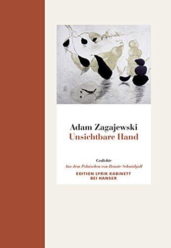 Preisvergleich Produktbild Unsichtbare Hand: Gedichte. Edition Lyrik Kabinett bei Hanser