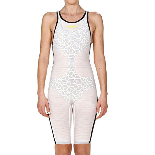 ARENA Damen Powerskin Carbon Air Limited Edition 2018 Swim Suit Badeanzug, weiß/schwarz, 28