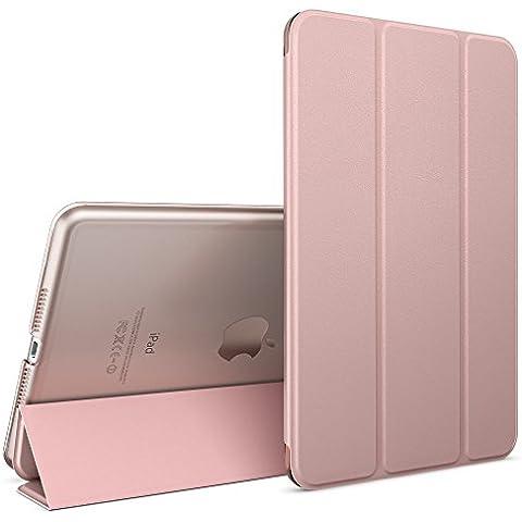 nica Smart Case Apple iPad Mini 4 Tablet Caso Ultrasottile Slim Cover - Multi Supporto Verticale Funzione Automatica Sveglia / Riposo - Rosa Oro - Partito Personalizzati Mini