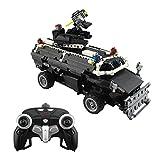 12che SWAT Polizeiauto Spielzeug Bausteine 1:12 2.4G Fernbedienung Polizeiauto für Kinder - 768 Stück
