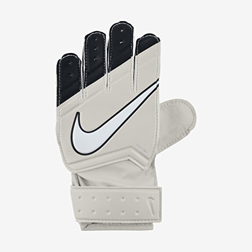 Nike Herren Football Handschuhe GK Match, Beige/Negro/Blanco (Light Bone/Black/White)