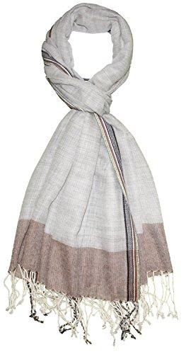 Preisvergleich Produktbild Lorenzo Cana Luxus Herren Schal Schaltuch 50% Kaschmir 50% Wolle Tuch Umschlagtuch Uni Männerschal Herrentuch Herren mehrfarbig