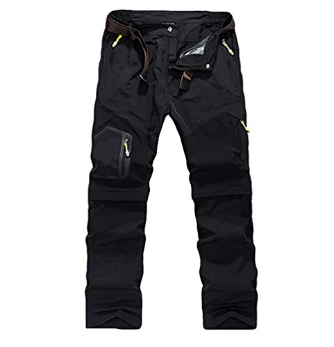 4705e1be0e90b9 YiLianDaD Uomo Pantaloni da Escursionismo campeggio ultraleggeri Pantaloni  da trekking ad asciugatura rapida Pantaloni da passeggio