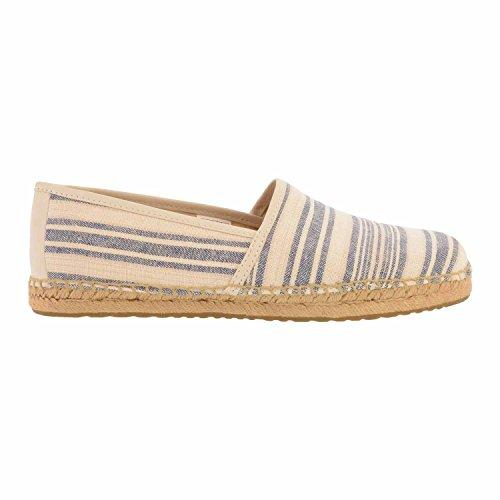 chaussures UGG Stripe Kas 1010156 Bleu