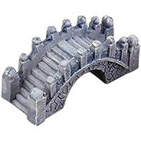 Miniature Pont de pierre en Résine Ornement de Fée Jardin