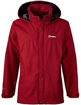 Berghaus RG Alpha Jacket Chaqueta Impermeable, Hombre, Red Dahlia, L