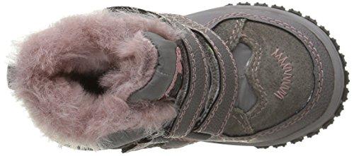 Lurchi Jaufen-Tex, Chaussures Marche Bébé Fille Multicolore - Mehrfarbig (grey rose 25)