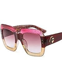 qbling technolog Marque de luxe Italie 2018 Lunettes de soleil carrées xl Femmes  Hommes Brand designer cadre rétro lunettes de soleil pour… 623a82cc897b