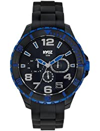 KA:OZ A58859-1S5I - Reloj para hombres, correa de silicona color negro
