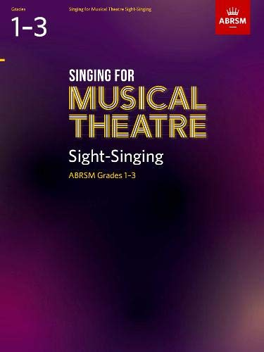 Singing for Musical Theatre Sight-Singing, ABRSM Grades 1-3, from 2019 (ABRSM Sight-reading) por ABRSM