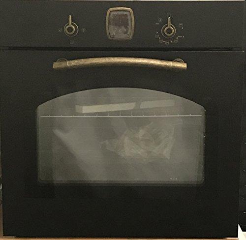 Gasline Retro Einbau Gasbackofen mit Gasgrill Autark / 65 Liter/Vollglas-Innentür (3-fach Verglasung)