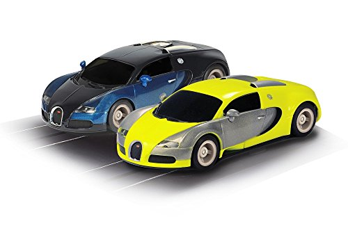 Scalextric Micro Hyper Cars Renn-Set im Maßstab 1:64