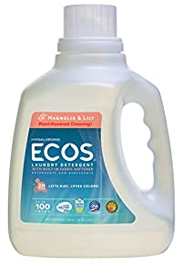 Earth Friendly Products Ecos Liquid Laundry Detergent Magnolia Lily 100Oun