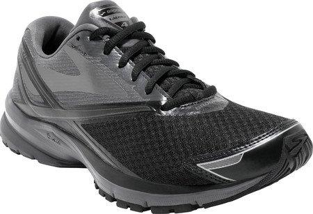 Brooks Launch 4, Chaussures de Course Homme Black/Anthracite/Silver
