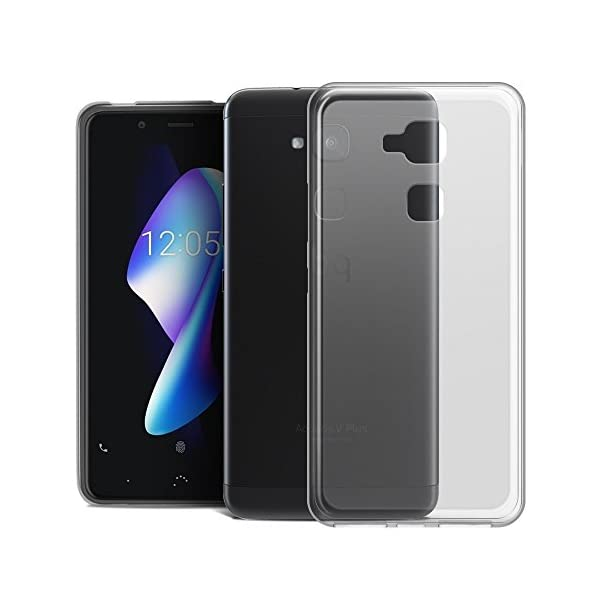 REY Ultra Fina 0,33mm Funda Carcasa Gel Transparente para Samsung Galaxy Tab A 7 Silicona TPU de Alta Resistencia y Flexibilidad