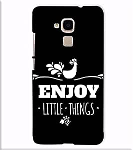 Fuson Designer Back Case Cover for Huawei Honor 5c :: Huawei Honor 7 Lite :: Huawei Honor 5c GT3 (Enjoy little things )