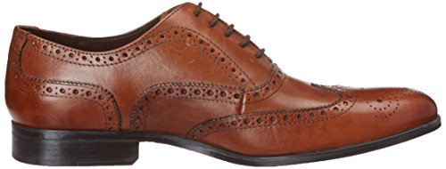 Clarks Banfield Limit Herren Brogue Schnürhalbschuhe Braun (Tan Leather)