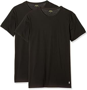 Polo Ralph Lauren - Sous-vêtements de sport - Col Ras Du Cou - Manches Courtes Homme -  noir - Small