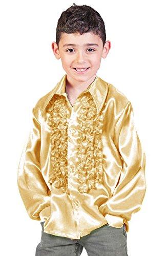 ohnny für Kinder - Gold Gr. 164 (70's Disco Kostüme Für Kinder)