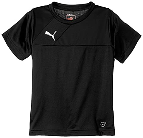Puma Esqua T-Shirt Garçon Noir/Noir FR : 14 ans (Taille Fabricant : 164)